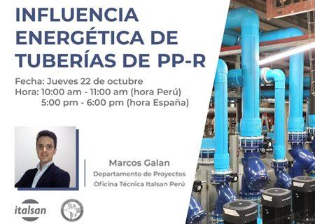 La influencia energética de las tuberias de PP-R en Perú Green Building