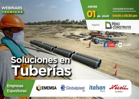 Webinar Soluciones en Tuberías-Perú